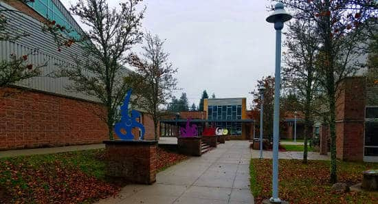 Meadowdale High School walk